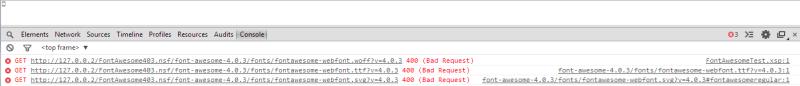 FontAwesome_Error_Chrome
