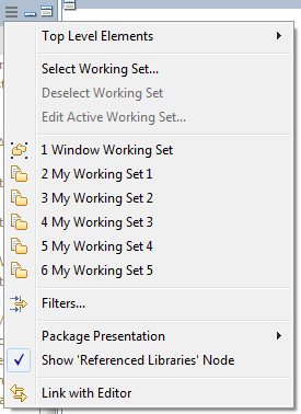 Blog - Package Explorer - 2 - None Selected