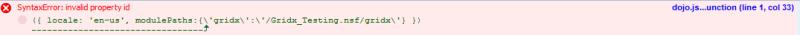 Gridx 2 - ModulePaths Error