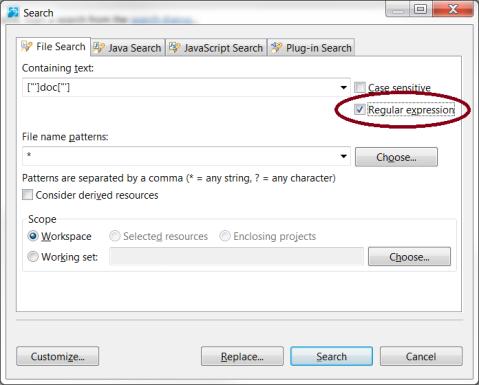 RegEx_SearchBox