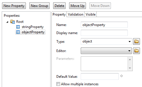 Custom Property - Object Type