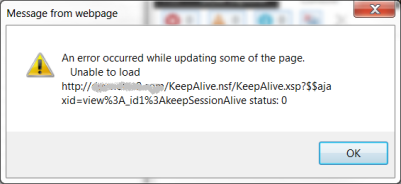 Keep Session Alive 2C - Partial Refresh Failure